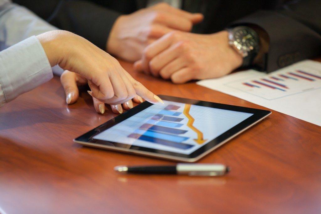 Analyzing online report