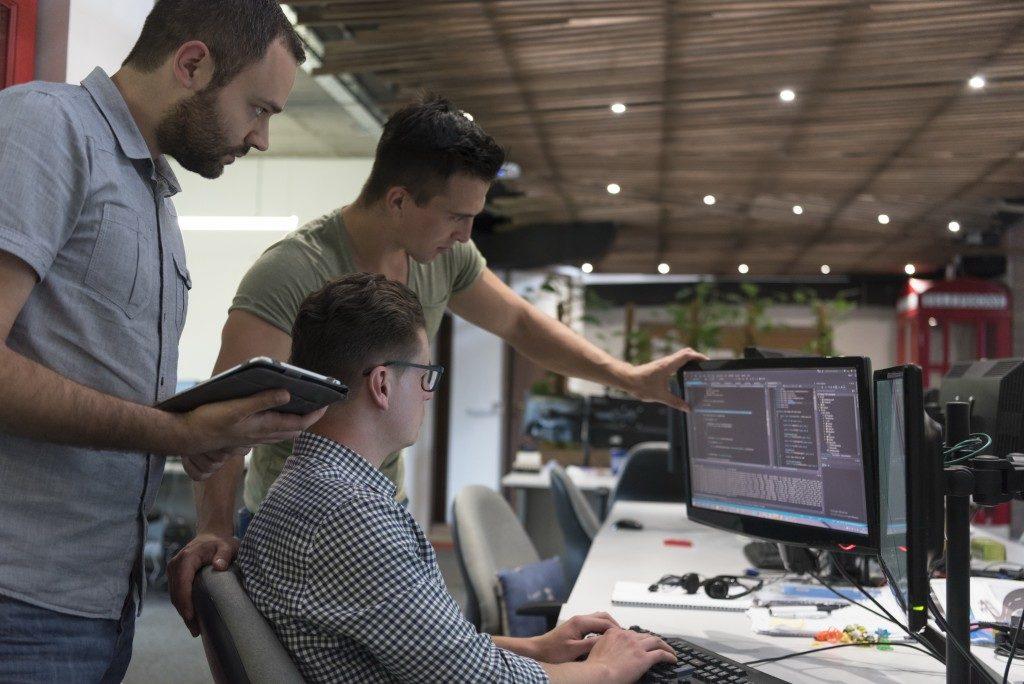 IT personnel coding